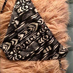 Roxy Swim - Roxy Black And White Tribal Bikini Bottom
